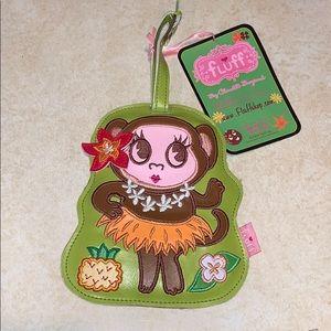 Hula Cutie Luggage tag